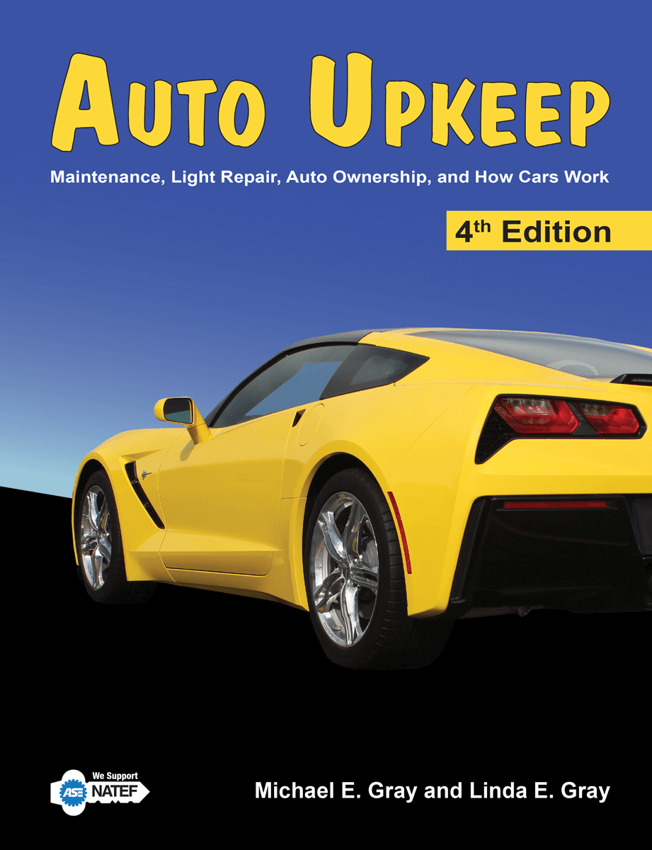 Auto Upkeep Textbook Cover