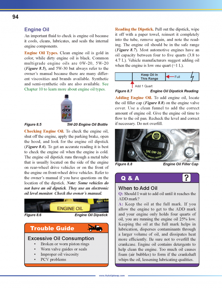 Auto Upkeep Textbook Page 94