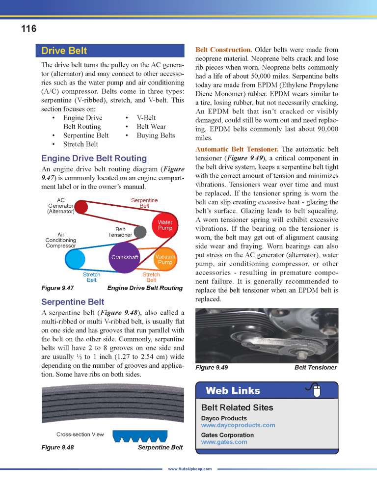 Auto Upkeep Textbook Page 116