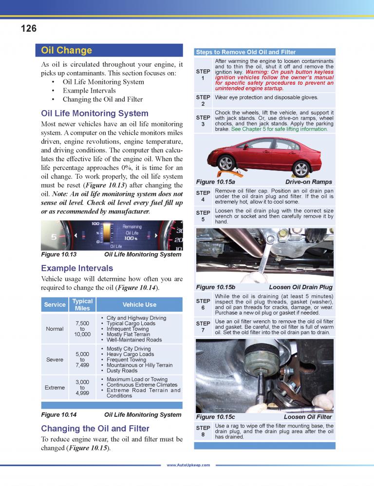 Auto Upkeep Textbook Page 126