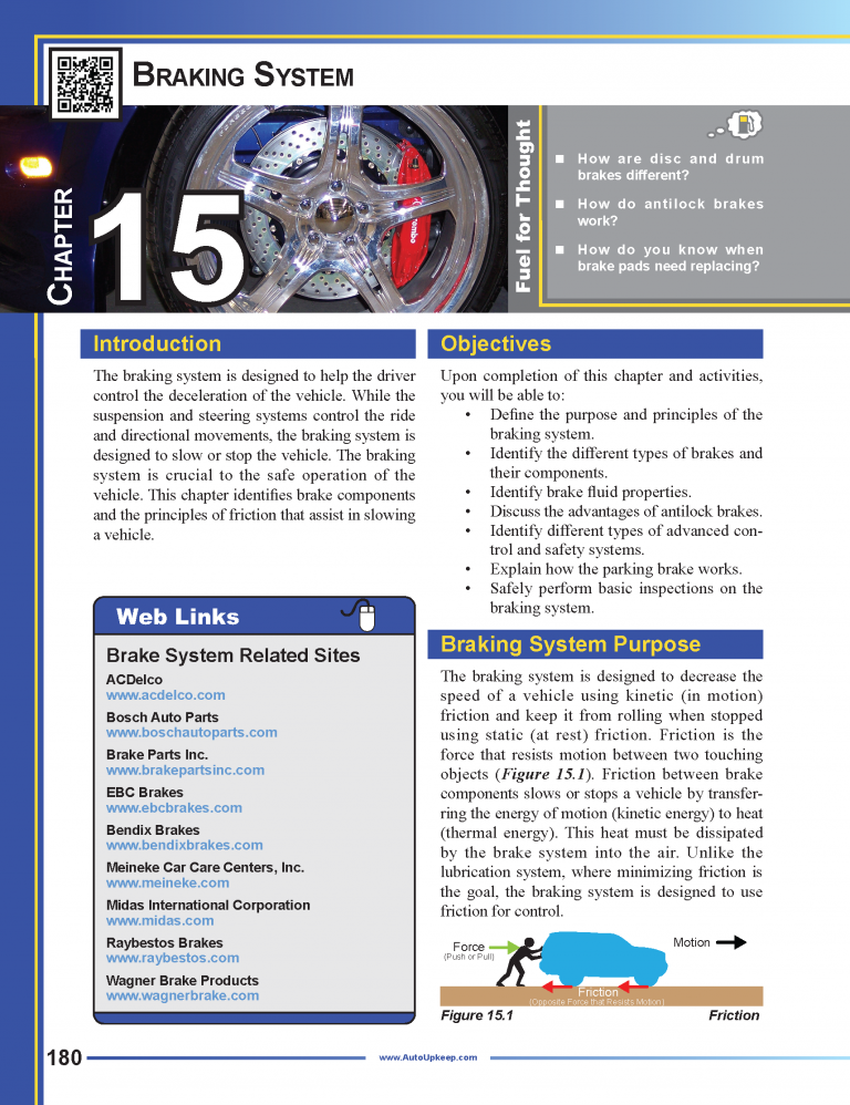 Auto Upkeep Textbook Page 180