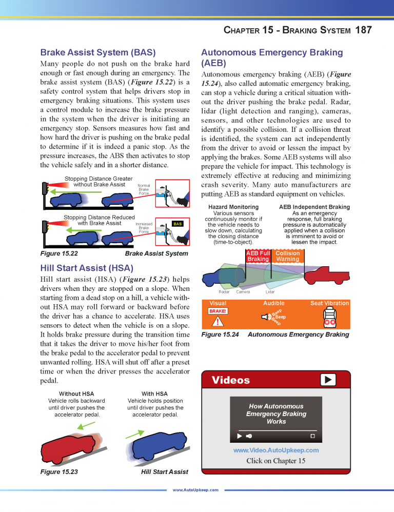 Auto Upkeep Textbook Page 187
