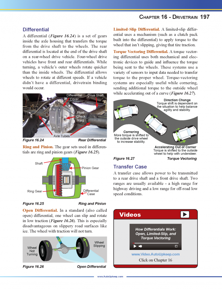 Auto Upkeep Textbook Page 197