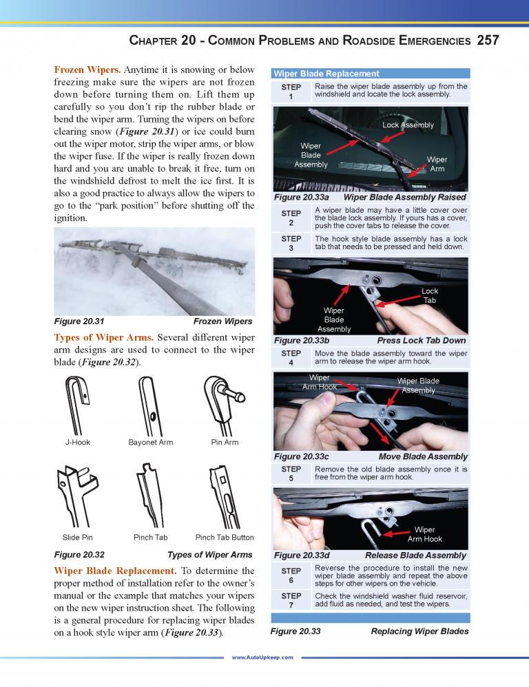 Auto Upkeep Textbook Page 257