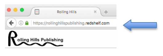 Go to Rolling Hills Publishing Redshelf