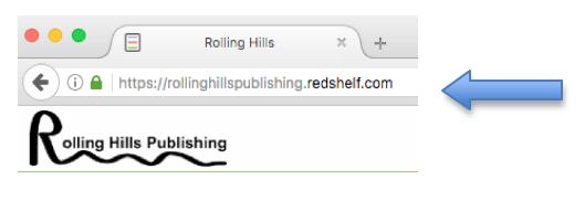 Go to Rolling Hills Publishing Redshelf