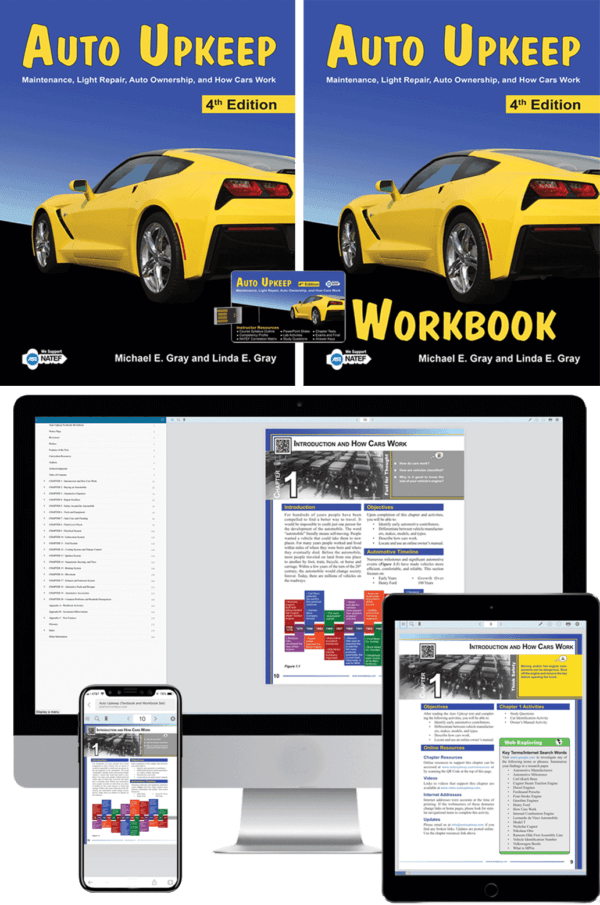 Auto Upkeep Homeschool Kit with eBook