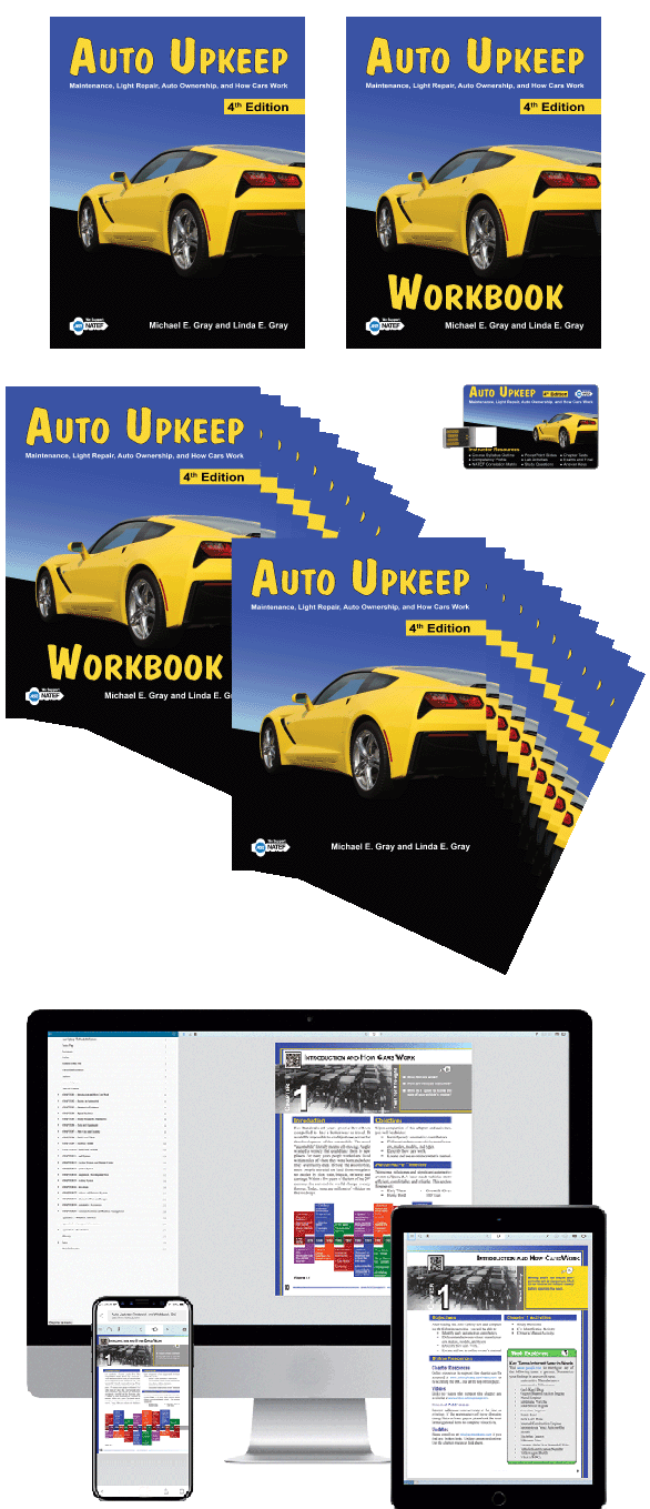 Auto Upkeep Class Set with eBook