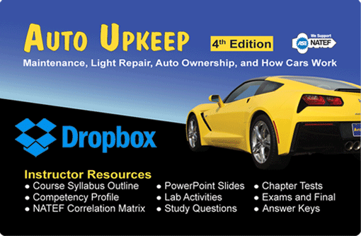 Auto Upkeep Instructor Resources Dropbox