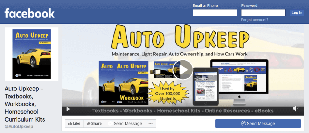 Facebook Auto Upkeep
